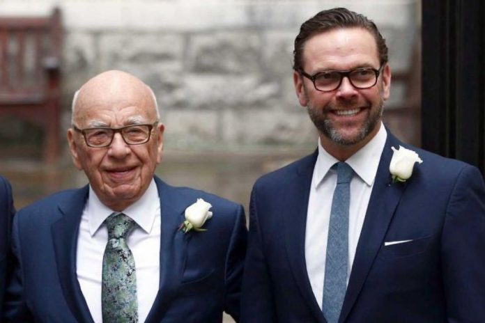 Rupert Murdoch's son James resigns from News Corp Board