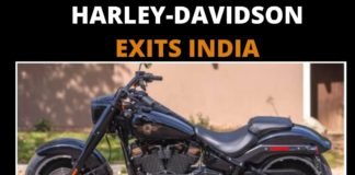 harley davidson exits india