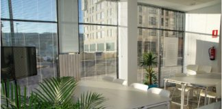 vacant office spaces