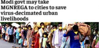 Modi govt may take MGNREGA to cities