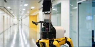 Researchers program robot to check vital signs of COVID-19 patients from 2 metres away!