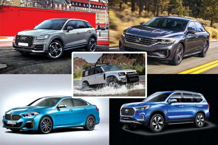Upcoming car launches in October